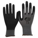 Latex-Handschuhe schwarz Art.3520 / Abnahme 144 Paar